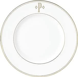 Lenox 联邦金块交织字母餐具 字母 P 870061