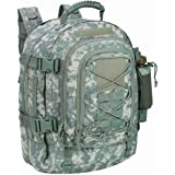 PANS *可扩展旅行背包战术防水户外 3 日包,大号,Molle 系统适用于学校、徒步、露营、徒步、户外运动、工作