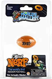 Worlds Smallest Nerf 足球 Nerf Football 橙色
