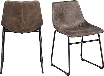 Abbey Avenue BS-ACH-400SE 射手椅套装,棕色
