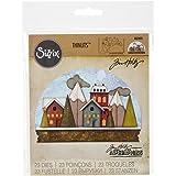 Sizzix 661603 Thinlits 模具,Snowglobe Tim Holtz 出品(21 件装)