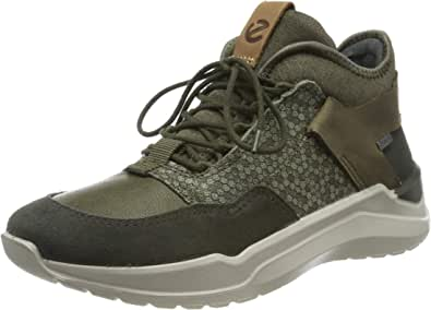 ECCO 中性 儿童 Intervene 高帮运动鞋