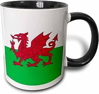 3dRose 马克杯 黑色/白色 15-oz Two-Tone Black Mug mug_158289_9