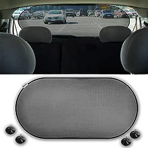 Zento Deals 汽车后窗遮阳屏幕网格盖 1 件