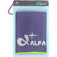 alfamo 散热毛巾适用于运动锻炼健身健身房 yoga 普拉提旅行露营 & More