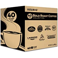 K-Cup Bold Variety Sampler, Keurig Single-Serve Coffee, 40 Count
