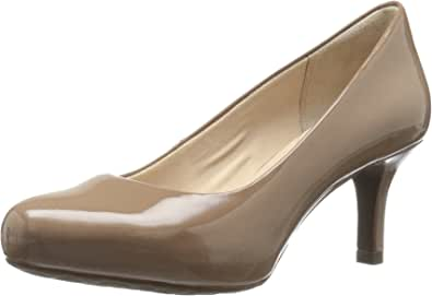 Rockport 女士 Seven to 7 Low Pump 高跟鞋 Rich Taupe Patent 9 W (C)
