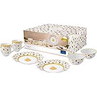 Villeroy & Boch Toys Delight 早餐 2 周年纪念版 6 件套 高级瓷器 白色 6tlg