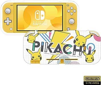 【任天堂ライセンス商品】TPUセミハードカバー for Nintendo Switch ピカチュウ - POP 【Nintendo Switch対応】