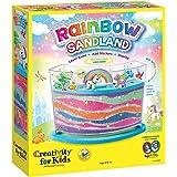 Creativity for Kids 彩虹凉鞋 - 制作您自己的儿童沙子艺术
