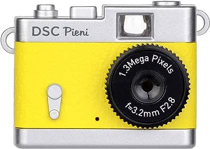 Kenko 数码相机 DSC Pieni 131万像素 可拍摄 柠檬黄色 DSC-PIENI-LY