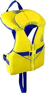 Stohlquist 幼儿救生衣海岸警卫队批准救生背心 黄色/蓝色 8-30 lbs