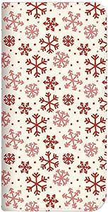 Mitas OPPO R15 Pro 手机壳 手账型 无带 圣诞节 白色 A (404) NB-0348-A/R15 Pro