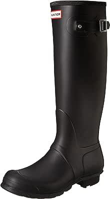 Womens Original Hunter Wellington Boots Black (Black) 4 UK