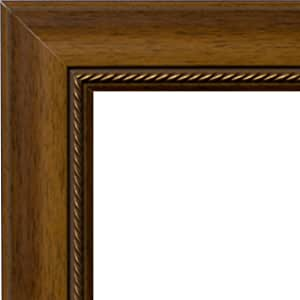 ArtToFrames 40.64 x 40.64 x 40.64 厘米相框浅胡桃色/金色绳索 .6.99 厘米宽 (WOMM319820)