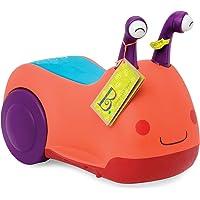 B Toys - Buggly Wuggly 骑行玩具(有灯光和声音)- 不含双酚 A - 儿童骑行玩具带储物空间,适合…