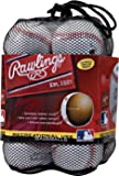 Rawlings 官方联盟休闲使用棒球,12 支装,OLB3BAG12