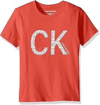Calvin Klein 男孩款小圆领T恤
