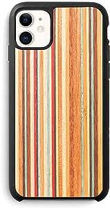 Recover Wood iPhone 11 手机壳。 iPhone 11 超纤薄保护木质保护套。 iPhone 11 滑板车