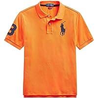 Polo Ralph Lauren 保罗拉夫劳伦男童网眼大马标识Polo衫