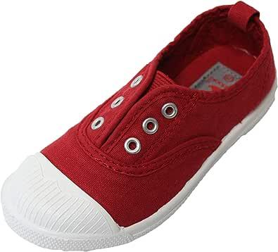 Badooki 男童女童帆布一脚蹬鞋