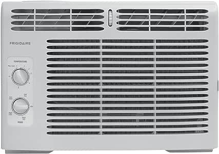 Frigidaire 5,000 BTU 115V 窗式迷你小巧空调器带机械控制,FFRA0511Q1
