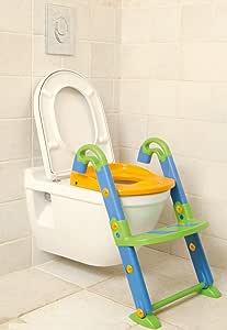 KidsKit 3 合 1 马桶坐便椅 – 如厕座椅训练坚固防滑梯,厕所座椅拆卸工具便携式马桶