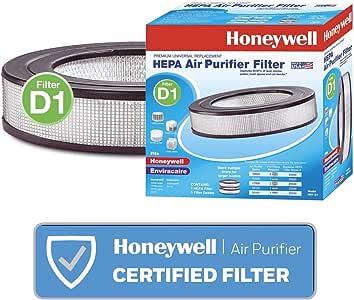 Honeywell 霍尼韦尔 通用空气净化器可更换HEPA过滤器,HRF-D1 /过滤器(D),11英寸(约27.94厘米)