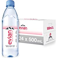 evian Natural Spring Water One Case of 24 Individual 500 ml…