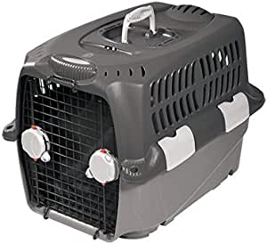 Dogit Cargo Dog Carrier with Gray Base and Top 灰色 大