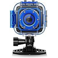 ourlife 儿童防水摄像机与视频录像机包括8 GB 闪存 深蓝色