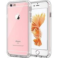 JETech 捷科 适用于iPhone 6 Plus和iPhone 6s Plus 5.5英寸的高清透明手机保护壳,防震保险杠盖,防刮擦透明后盖