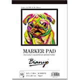 Bianyo XL 水彩画纸,成人和儿童艺术笔记本电脑,精装…… White 9 * 12 9 * 12, 50 sheets BN-5801