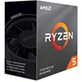 AMD Ryzen 5 3600 Processor (6C/12T, 35MB Cache, 4.2 GHz Max…