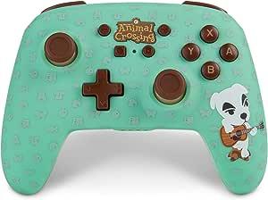 POWER A 增强无线控制器 适用于任天堂 Switch - Animal Crossing: K.Slider - Nintendo Switch