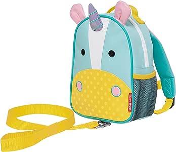 Skip Hop 蹦蹦跳跳动物园系列儿童和幼儿*包带背包 Unicorn