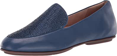FitFlop Lena Crystal 女士平底乐福鞋