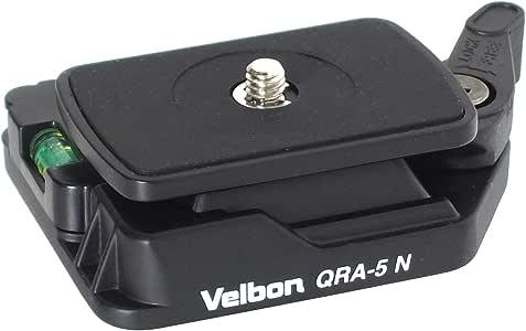 Velbon 快装板套装 杠杆式 QRA-5N DIN规格快装板对应 镁制