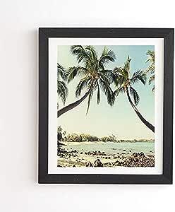 Deny Designs Bree Madden The Bay 加框艺术,20.32 cm x 24.13 cm,*