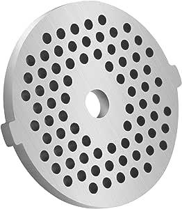 不锈钢肉类研磨器板盘适用于食物切碎机和肉类研磨机机械零件 3/25 Hole Plate