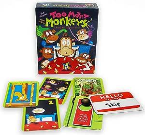 Gamewright 很多猴子游戏