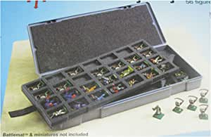 Chessex 公仔收纳盒:角色扮演游戏 (RPGs) - 大人物收纳盒 - 25 毫米大人物 - 56 人形玩具/人类油容量