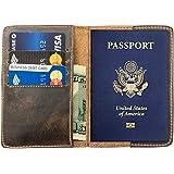 由 Hide & Drink 手工制作的耐用皮革护照夹:波旁棕色
