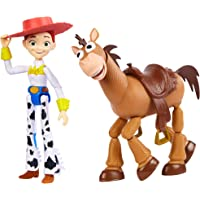 Toy Story 迪士尼皮克斯玩具总动员 Jessie和Bullseye角色模型 2件