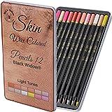肤色彩色铅笔|肖像套装 | 成人彩色铅笔| Skintone 艺术家铅笔