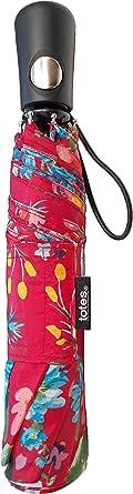 Totes 雨伞,NeverWet Technology,自动打开,43英寸弧形伞,