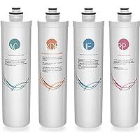 iSpring F4-CUA4 4件套过滤器套装,4级超过滤下水过滤器系统 CUA4