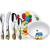WMF 福腾宝 WINNIE THE POOH儿童餐具套装刀叉勺瓷碗杯碟