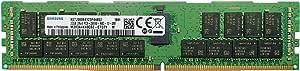 SAMSUNG 三星 32GB M393A4K40CB2-CTD8Q DDR4-2666 ECC RDIMM 2Rx4 PC4-21300V-R CL19 服务器内存