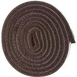 Self-Stick 重型毛毡带卷适用于硬表面 棕色 1/2 x 60 Inch 6w